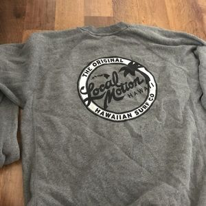 Local motion sweatshirt
